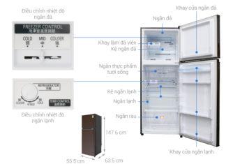 cách xử lý khi cánh cửa tủ lạnh không đóng được - Điện máy phát đạt TPHCM