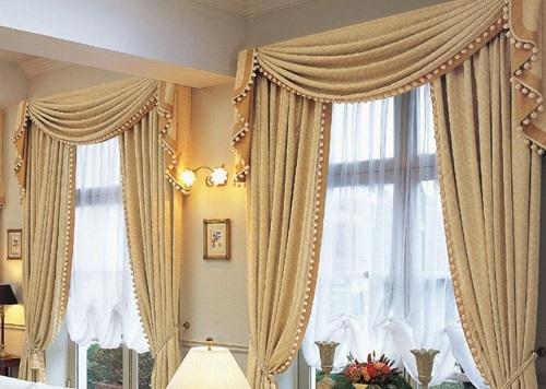 7 lí do nên sử dung rèm cho phòng khách
