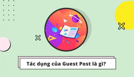 Guest Post để làm gì?
