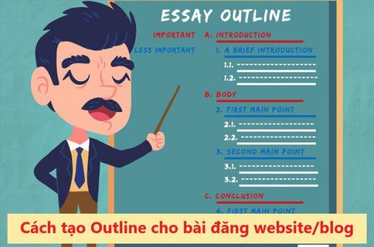 Lên outline bài viết chuẩn seo